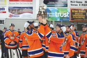 The Nitehawks, hoisting the Cyclone Taylor Cup, completed the season with an impressive 59-9-2-0-3 record.