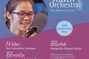 The Greater Victoria Youth Orchestra, wrapping up its wraps up its 30th Anniversary Season and loaded with talent, is coming to perform in the area in May.