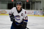 Scott Swiston, who came to the Saints after leading the Creston Valley Thunder Cats, scored in OT to power Selkirk to the top of the BCIHL table. — Submitted photo