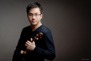 Andrew Wan is half of the Crow-Wan Violin Duo. — Submitted photo