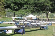 The lawn at the Lakeside Rotary Park will once again be filled with boats for the Nelson Sprints regatta. — Bruce Fuhr file photo, The Nelson Daily