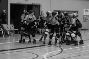The Killjoys continue to roll on the West Kootenay Roller Derby circuit. — photo by Alana Henne