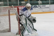 Ice netminder Jason Mailhiot will be back in the nets when Kootenay hosts Vancouver Northeast Chiefs for a weekend set in Nelson and Trail. — The Nelson Daily file photo