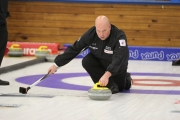 Kelowna's Jeff Richard pulled off a magical finish to edge Mark Longworth of Vernon 11-10 in B event play Wednesday evening at the Nelson Curling Club. — Bruce Fuhr, The Nelson Daily