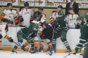 Game one of the KIJHL Murdoch Division Semi Final was a battle with Nelson coming out the winner in four-overtime periods Thursday night in the Sunflower City. — Bruce Fuhr photo