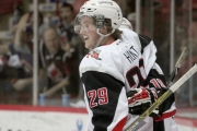 Nelson Minor Hockey grad Dryden Hunt continues to light up the Western Hockey League with the Moose Jaw Warriors. — Photo courtesy Stephen Simon, Moose Jaw Warriors