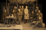 Photo is of the cast of a recent production of Journey's End by the Swansea Theatre Company. — Submitted