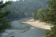 The Crescent Valley Beach Regional Park, located on the Slocan River, is one of three parks in the RDCK getting a facelift.