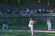 Noah Quinn works from the mound for Trail against Beacon Hill.— Submitted photo