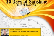 30 Days of Sunshine Book Tour comes to West Kootenay