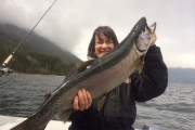 There's some pretty big fish in Kootenay Lake. — Photo courtesy Reel Adventures Sportfishing