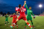 Striker Christine Sinclair and goalkeeper are not the only people doing the high-five as the FIFA tournament is lining the province's pockets.