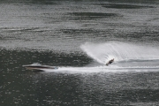 A water skier was enjoying a few turns on the Kootenay River near Taghum Tuesday morning as the northern hemisphere rang in Summer 2016 Monday. — Bruce Fuhr, The Nelson Daily