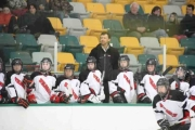 Coach Cary Fisher and the Wildcats are in Kelowna this weekend for the Female Midget AAA Semi Finals. — The Nelson Daily photo