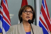 Premier Christy Clark's government survived Tuesday's budget vote.