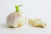 Sprouted garlic -- don't toss it out