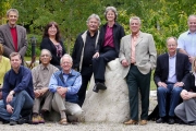 Columbia Basin Trust's Board. Back row (left to right): Paul Peterson; Denise Birdstone; Garry Merkel, (retired); Laurie Page, V