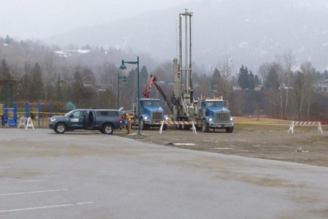 Drilling begins for new natural swimming ponds at Millennium