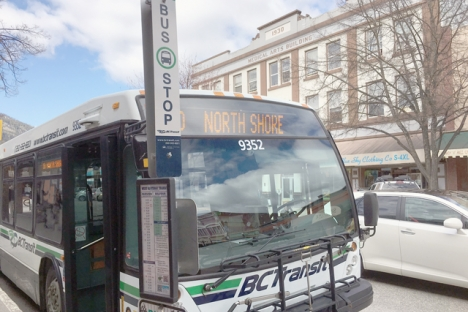 Route 10, North Shore, is getting another run during morning peak hours every weekday. — The Nelson Daily photo