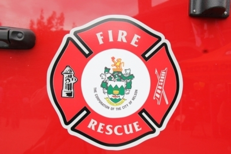 Two firefighters responded to the incident with one fire engine and one utility vehicle.