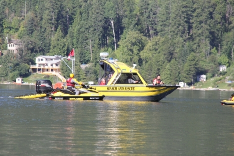 Nelson Search and Rescue were called out Saturday afternoon to the report of a drowning near Marsden Road in Taghum. — Bruce Fuhr file photo