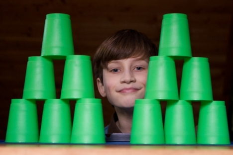 Sascha MacMillan wants to represent Canada at the World Sport Stacking Championships in Orlando but needs help getting there. 