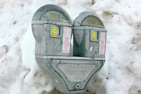 Meters will still receive quarters, loonies and toonies, but the cost per hour is increasing to $1.25 after council passed third reading of the bylaw to change parking rates. — The Nelson Daily file photo