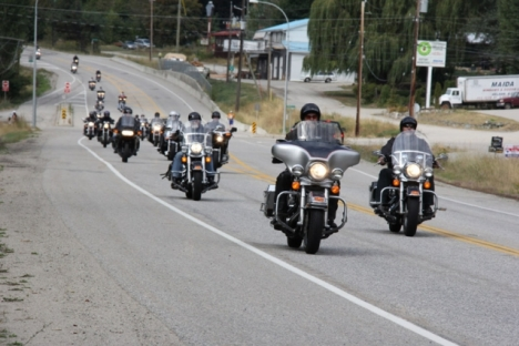 Warmer weather promises to bring out the motorcycle riders on roads in the Southern Interior.